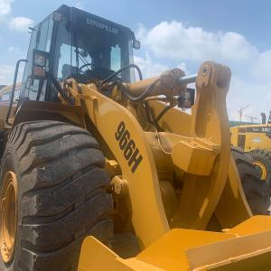 USED  CAT  966H  JAPAN  WHEEL  LOADER