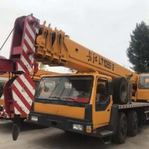 USED  CHANGJIANG  LT1055   CHINA  HYDRAULIC  CRANE