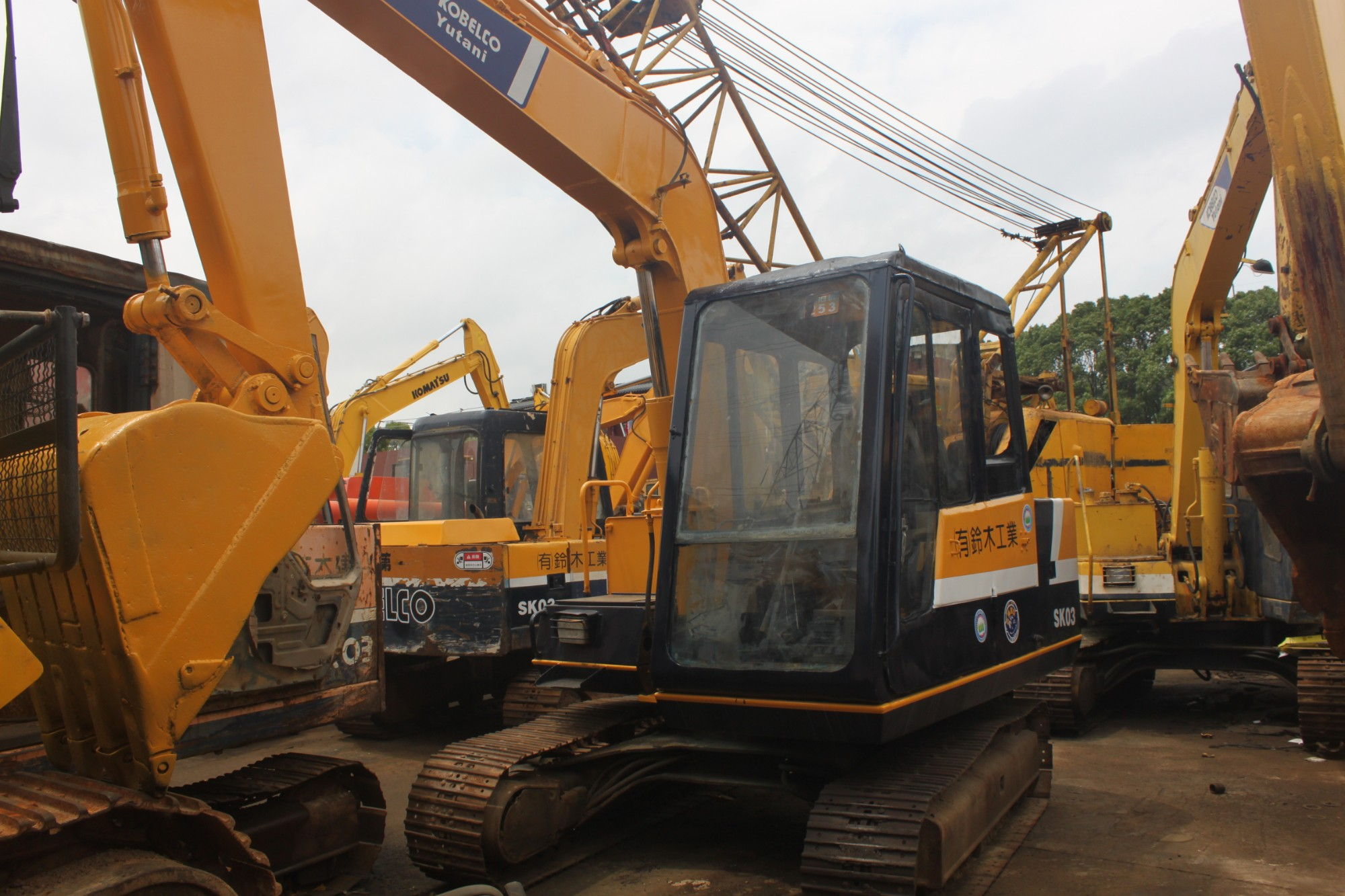 USED  KOBELCO  SK03  ORIGINAL  JAPAN  EXCAVATOR